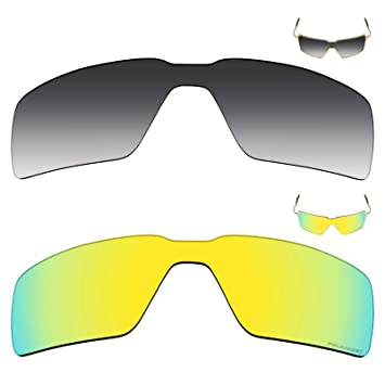 525a72b471 Image Unavailable. Image not available for. Color  Mryok+ 2 Pair Polarized  Replacement Lenses for Oakley Probation Sunglass ...
