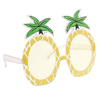 Talking Tables Tropical Party Lunettes de Soleil Ananas pour Fête Estivale ou Luau Hawaïen, Multicolore