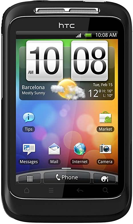Amazon Com Htc A510e Blk Wildfire S Unlocked Smartphone With