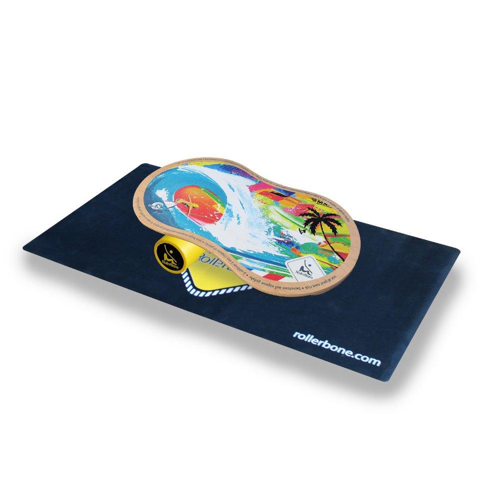 Rollerbone Shabby 1.0 Classic Set Balance Board + Carpet