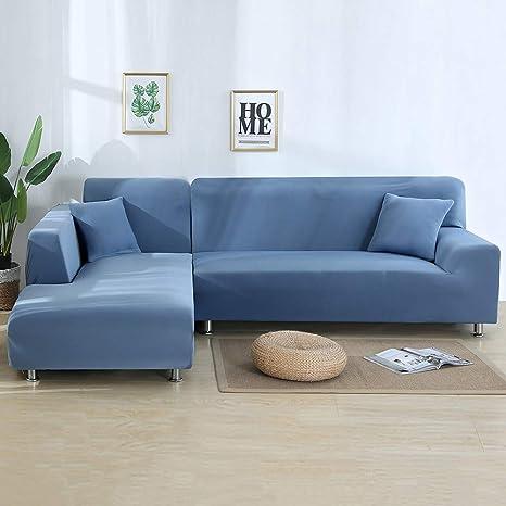 SearchI Fundas Sofa Elasticas Chaise Longue,Cubre Sofás Modernas Protector para Sofás Acolchado Brazo Izquierdo Fundas de Sofa Ajustables en Forma de ...