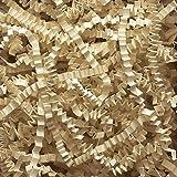 Aviditi CP10W Crinkle Cut Paper, 10 lbs per Case, Ivory
