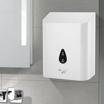 Secador de manos comercial,Secadora de alta velocidad Resistente Sensor automático Hoteles Hotel Inodoros Baño-A: Amazon.es: Hogar
