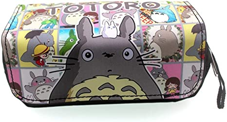 ZXJWZW Totoro Pencil Case Anime Cosplay Bolsas de Papelería Estuche para lápices Estudiantes Plumier Caso Stationery Pluma Bag: Amazon.es: Deportes y aire libre