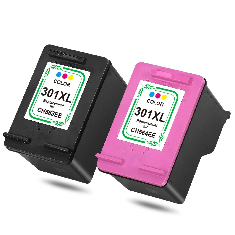 HP 301 X L Cartuchos de Impresora Multipack, Color 1 Schwarz, 1 ...