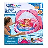 Swim School- Confidence Building System Mermaid Baby Boat with Inflatable Toys