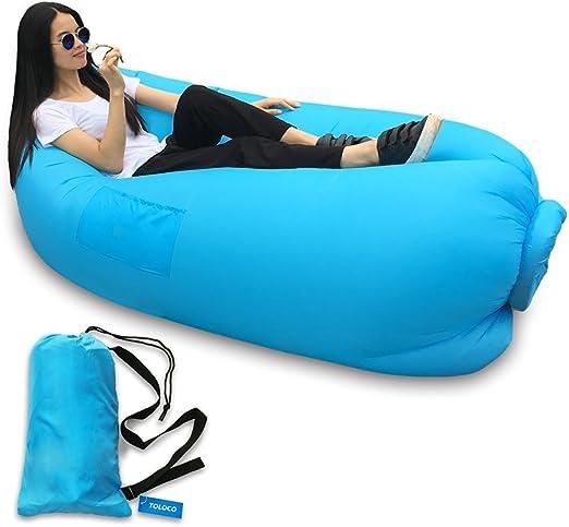 pandapanda hinchable Lounge sofá hamaca bolsa aire y piscina ...