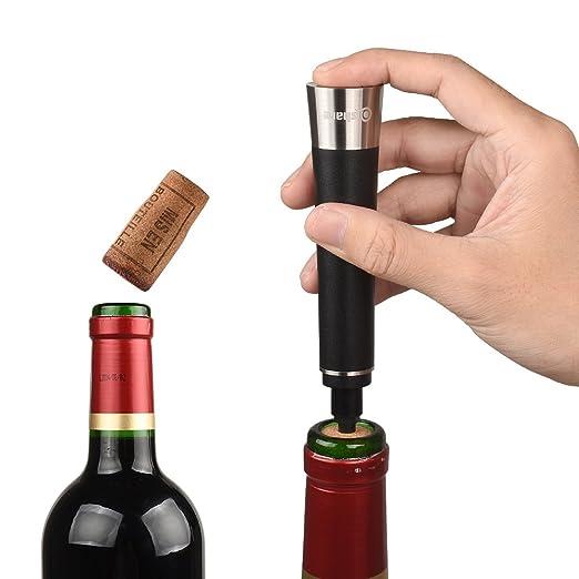 7 opinioni per Qishare Pompa di bottiglia aperta del vino di pressione elegante con la