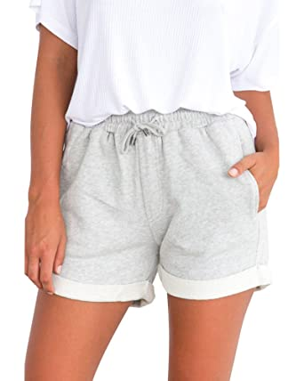 Shorts Frau Shorts Hot Pants Sport Leggings Fitness Kurze Hosen Sporthose Shorts