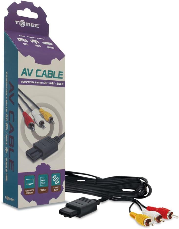 Tomee: AV Cable para video consola Nintendo Gamecube ...