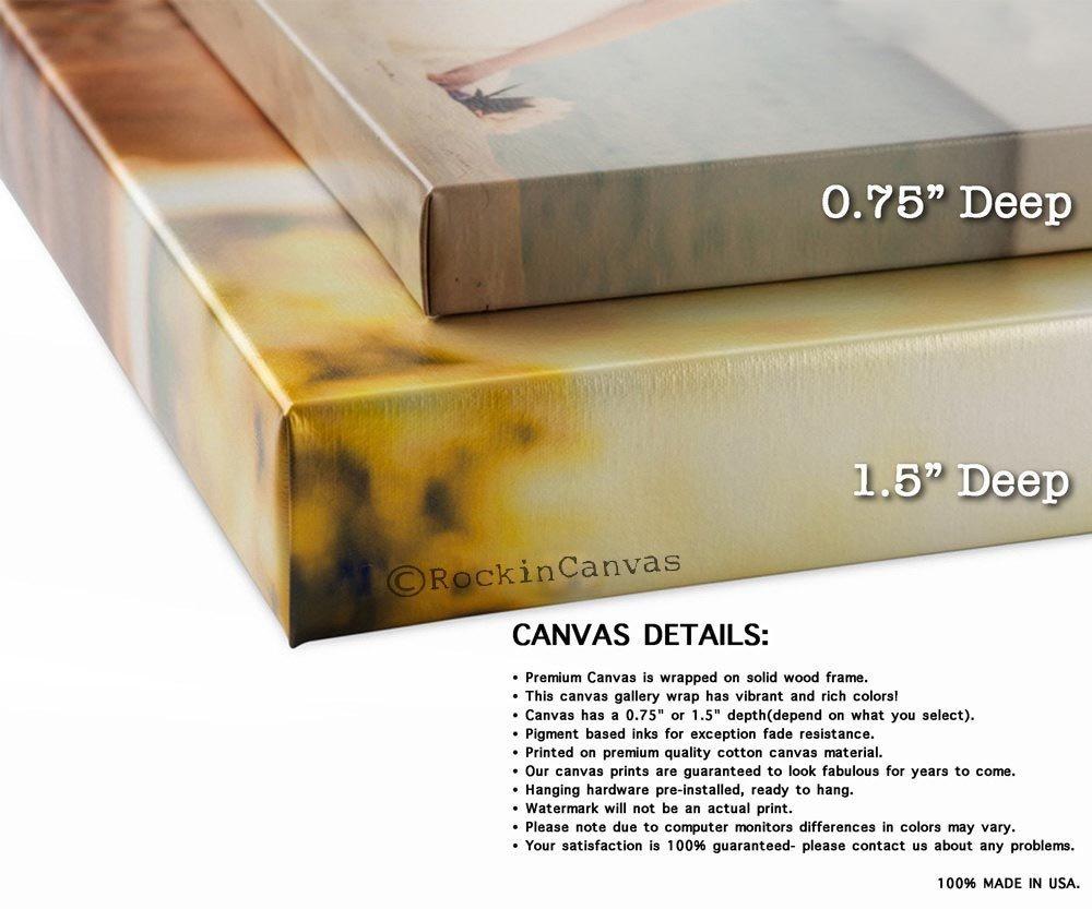 Amazon.com: Song Lyric Art/ Custom Wedding Canvas Print with Love ...