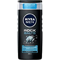 Nivea Men Rock Salts verzorgende douchegel (250 ml), verfrissende douchegel met natuurlijke steenzout, pH…