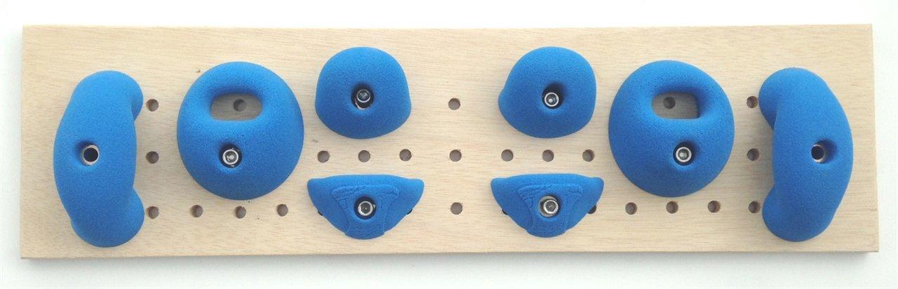 Beginner Hangboard Holds   Climbing Holds   Blue