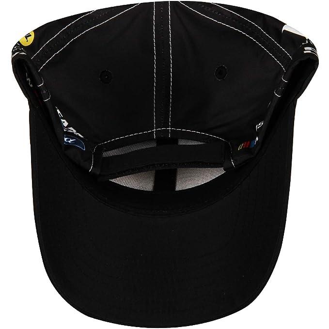 Amazon.com: Gorra ajustable de la bandera de cuadros NASCAR ...