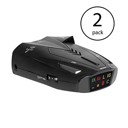 Amazon.com: Cobra 9 Band Laser Police Radar Detector with Safety Alert & LaserEye | ESD9275 (2 Pack): Car Electronics