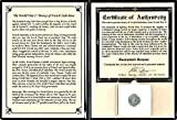 1943 FR World War II Money of French Indochina,1943 Cent, Album,Story  and  Certificate Cent Fine