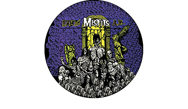 Pinback Button 1 Earth Ad The Misfits
