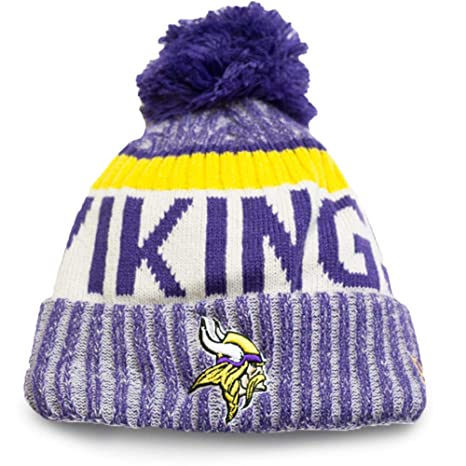 Image Unavailable. Image not available for. Color  New Era Knit Minnesota  Vikings ... 13f48df342a