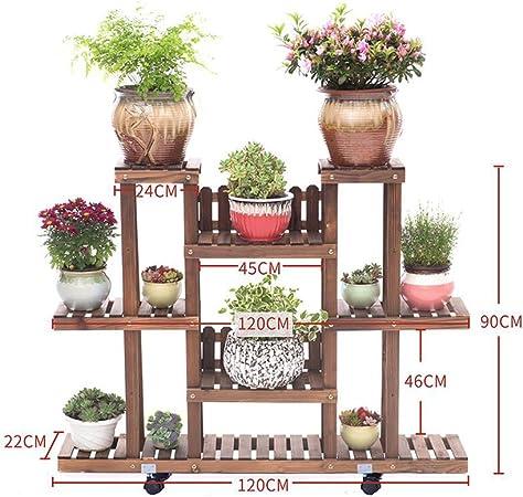 Piccole decorative VASO Stand Fiore Display Scaffale Panca da giardino arredamento