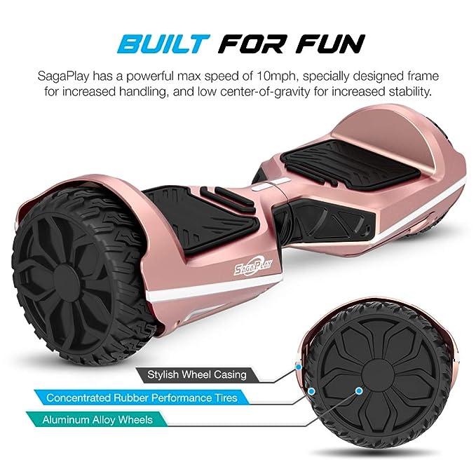 Amazon.com: SagaPlay tabla autoequilibrada para patinete con ...