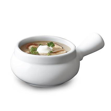 Sur La Table Blanc Soup Bowl with Handle 59170  sc 1 st  Amazon.com & Amazon.com | Sur La Table Blanc Soup Bowl with Handle 59170: Onion ...