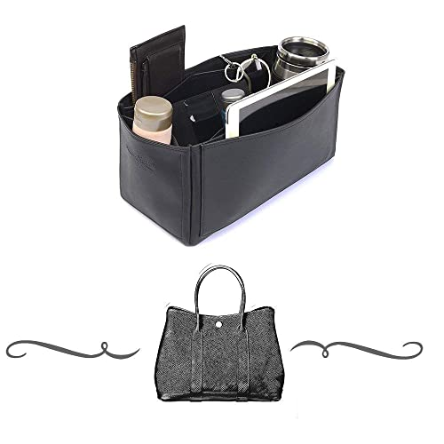 e9d2bc821 Amazon.com: Garden Party 36 Deluxe Leather Handbag Organizer, Leather bag  insert for Hermes Garden Party 36, Express Shipping: Handmade