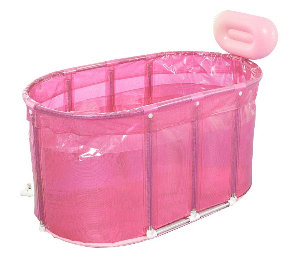 sunhai & Sauna baño con burbujas para bañera plegable bañera barril de baño adultos bañera soporte de acero inoxidable: Amazon.es: Hogar