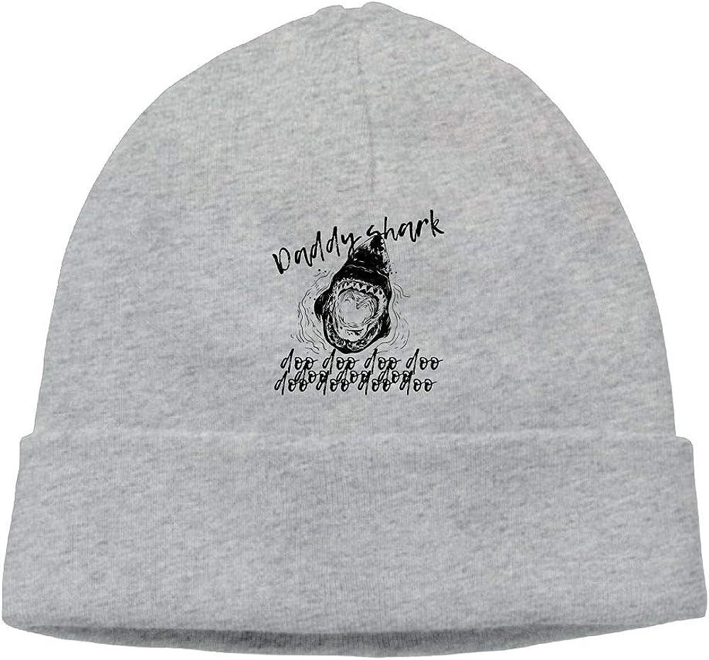 Daddy Shark Doo Beanie Hat Skull Caps for Womens Mens