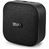 MIFA スピーカーポータブル ワイヤレス Bluetooth 4.2、5W拡声器、12時間連続再生、内蔵リチウムバッテリー1200mAh、内蔵マイク搭載、Micro SDカード機能つけ【ブラック】