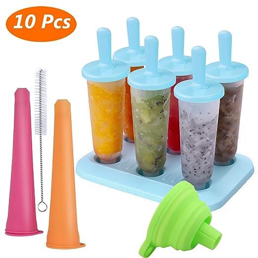 Compra Molde para Helados, Joylink Moldes de Paletas BPA y ...