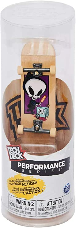 Amazon Com Tech Deck Performance Wood Series Blind Skateboards Reaper Box Complete Fingerboard Toys Games