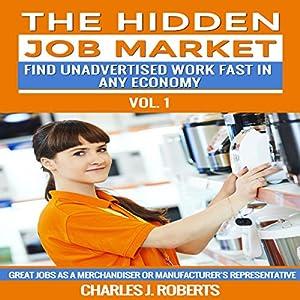 The Hidden Job Market: Vol. 1 - Great Jobs as a Merchandiser or Manufacturer's Representative Audiobook