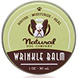 Natural Dog Company Wrinkle Balm Tin, Cleans and Protects Dog Wrinkles and Skin Folds, Perfect for Bulldogs, All Natural, Org