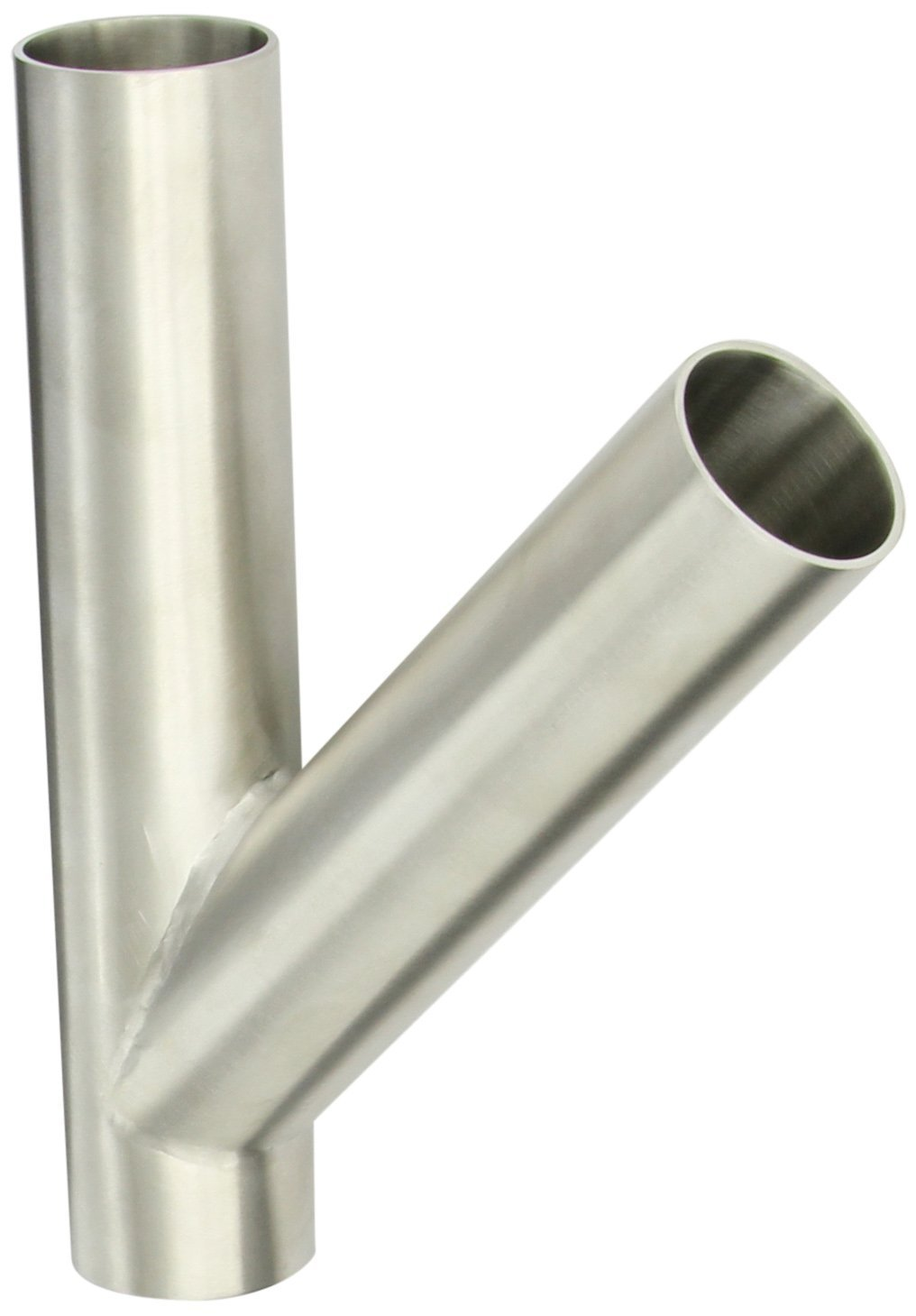 Dixon B28WA-R150P Stainless Steel 316L Sanitary Fitting, Polished Weld Clamp Lateral, 1-1/2'' Tube OD