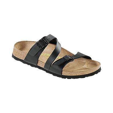 dea0d8125990 Birkenstock Women s Salina Birko-Flor Black Sandals (N)