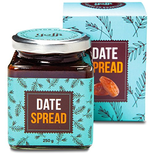 Yoffi Natural Date Spread 8.8 Ounce - Vegan Friendly