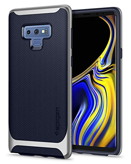 best sneakers 26a9b 13e2a Spigen Neo Hybrid Designed for Galaxy Note 9 Case (2018) - Arctic Silver