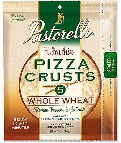 Classic Pizza Pan - Pastorelli Ultra Thin Pizza Crusts Whole Wheat (personal)