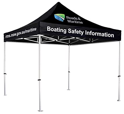 new style fa897 0e3e1 UNIQ SIGNS 10x10 Premium Pop up Canopy Commercial Tent Imprinted Fair  Vendor Tent with Your Logo