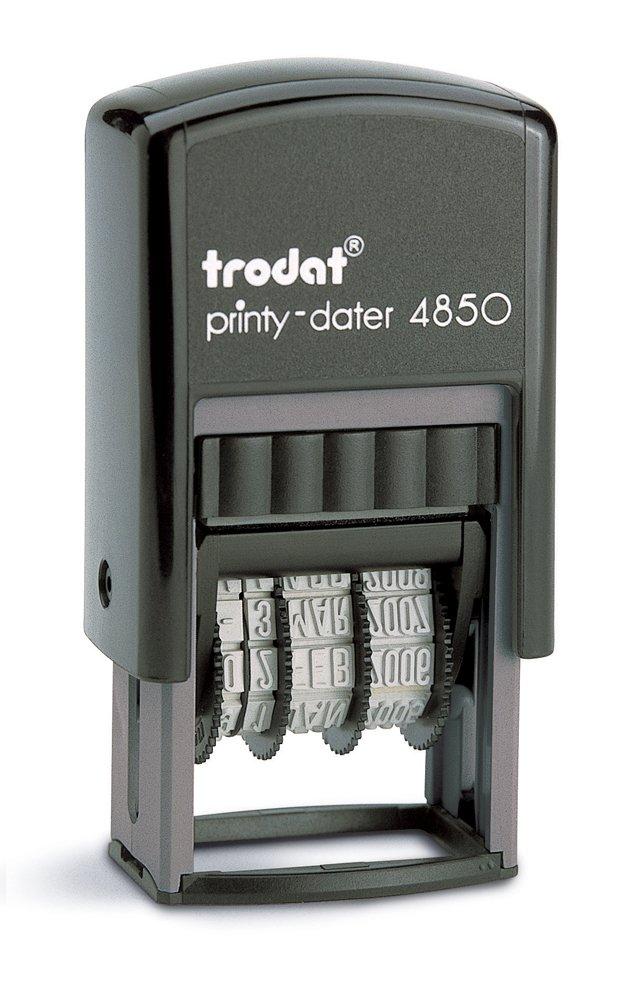 Trodat-Sello fechador 4850/L1, color negro 89