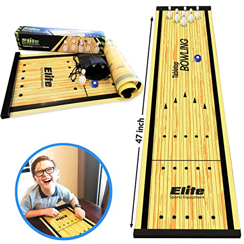 Elite Sportz Equipment Family Games for Kids and Adults - Fun Kids Games Ages 4 and Up - Way More Fun Than it Looks, is Quick and Easy to Set-Up (Bowling Game)