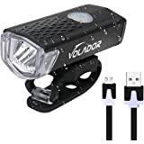 Volador Bike Light, USB Rechargeable Mountain Bike Light, Cycle Lights,LED Bicycle Headlight Lamp 300 Lumens, 3 Modes, Wide Beam Angle