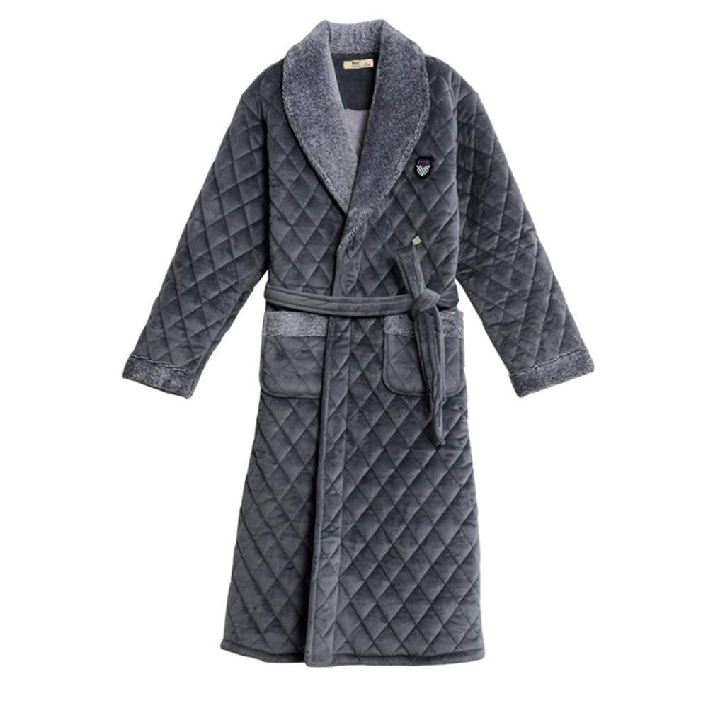 Robe NAN Liang Men Towelling 100% Cotton Terry Towel Bathrobe Dressing Gown Bath Perfect for Gym Shower Spa Hotel Holiday Comfortable (Size : XXXL) Nanianhuakai