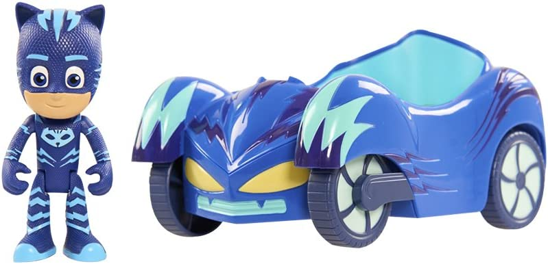 PJ Masks Vehicle Cat-Car & Catboy Figure