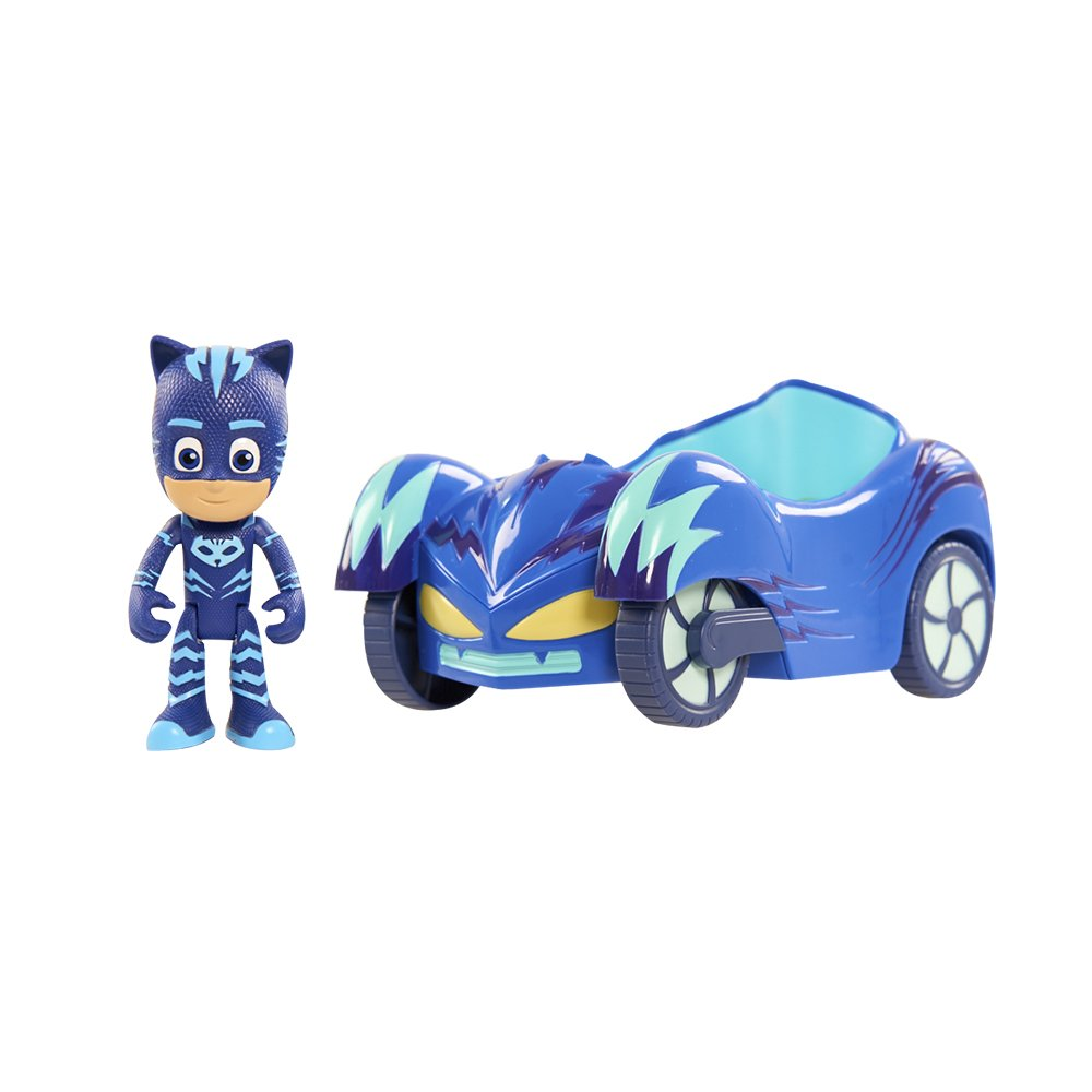PJ Masks Vehicle Cat-Car & Catboy Figure by PJ Masks