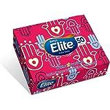Lenços de Papel Elite Softy's Folha Dupla, 50 unidades de 21x14,08 cm