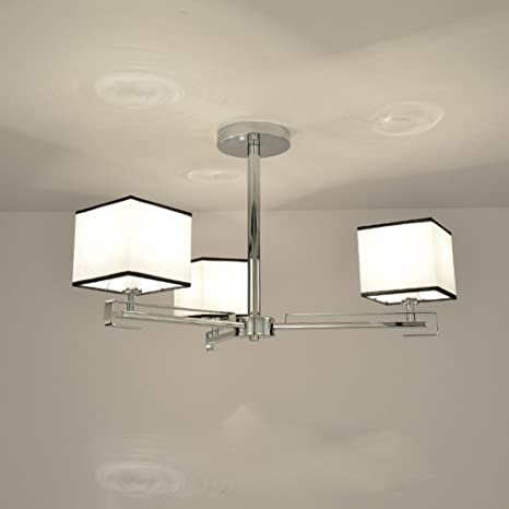 DHG Moderna Lámpara de Techo Simple Sala de Estar Lámpara de ...