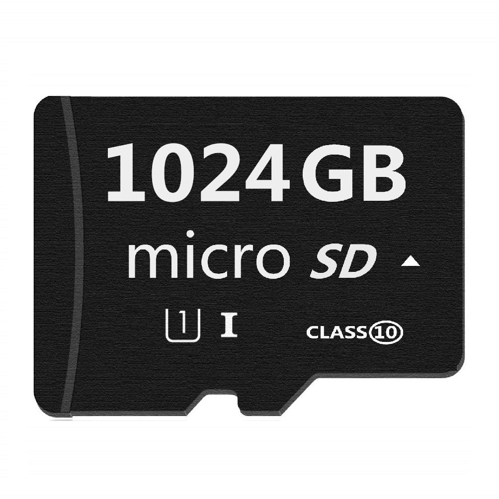 Micro Mini SD Card 1024GB, XSSRUN Small Memory Card for Micro Mini SD/XC/HC Class 10 UHS-I High Speed Memory Card for Phone,Tablet and PCs - with Free Adapter by XSSRUN