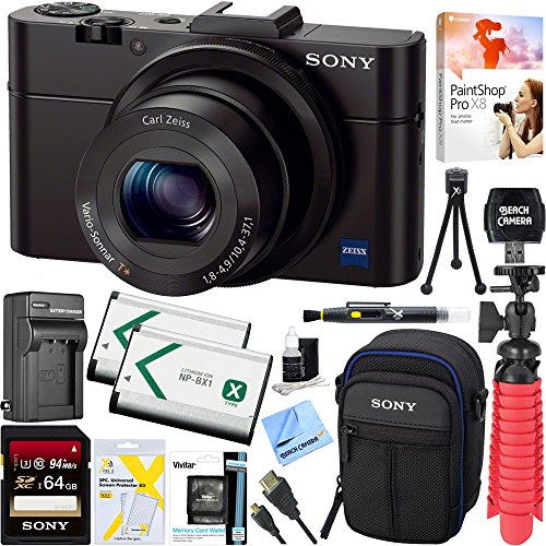 Sony Cyber shot DSC RX100 Digital Camera product image
