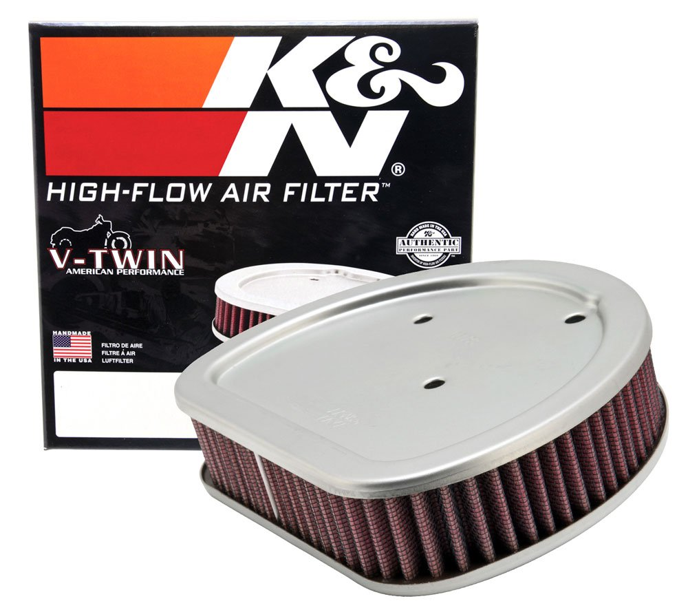 K&N HD-1499 Harley Davidson High Performance Replacement Air Filter (Replaces OE# 29461-99)